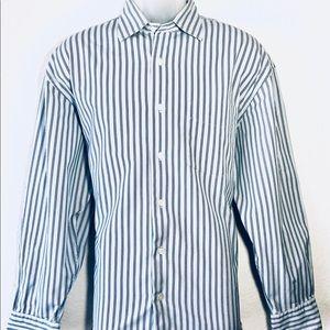 Náutica Men's Shirt Long Sleeve Size L